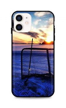 Zadní silikonový kryt DARK na iPhone 12 mini Hockey Sunset