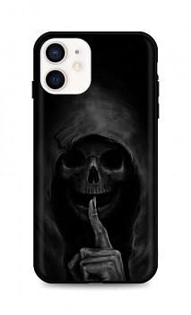 Zadní silikonový kryt DARK na iPhone 12 mini Dark Grim Reaper