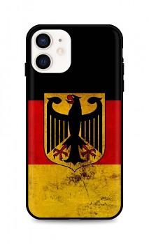 Zadní silikonový kryt DARK na iPhone 12 mini Germany