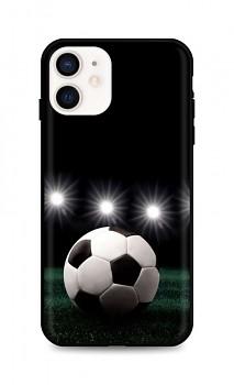 Zadní silikonový kryt DARK na iPhone 12 mini Football