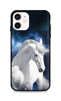 Zadní silikonový kryt DARK na iPhone 12 mini White Horse
