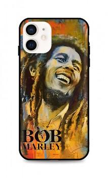 Zadní silikonový kryt DARK na iPhone 12 mini Bob Marley