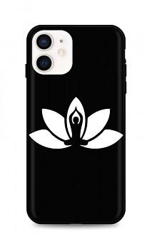 Zadní silikonový kryt DARK na iPhone 12 mini Yoga