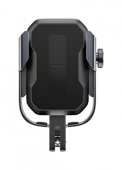 Držák na mobil na motocykl / skútr / kolo Baseus (SUKJA-01) černý