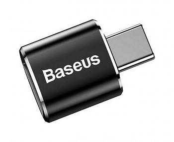 Adaptér OTG Baseus USB / USB-C (Type-C) černý