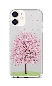 Zadní silikonový kryt na iPhone 12 Blossom Tree