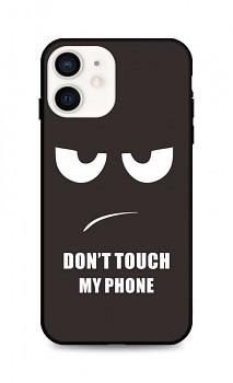 Zadní pevný kryt LUXURY na iPhone 12 mini Don't Touch