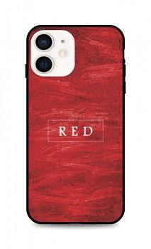 Zadní pevný kryt LUXURY na iPhone 12 mini Red