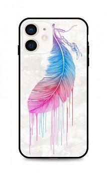 Zadní pevný kryt LUXURY na iPhone 12 mini Feather
