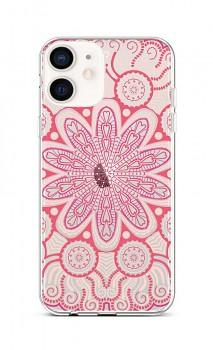 Zadní silikonový kryt na iPhone 12 mini Romantic Mandala