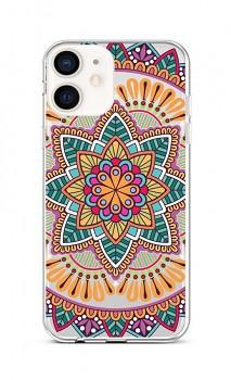 Zadní silikonový kryt na iPhone 12 mini Happy Mandala