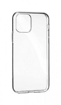 Zadní silikonový kryt na iPhone 12 mini 2 mm průhledný
