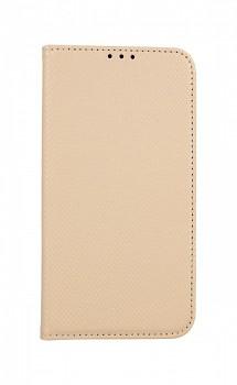 Knížkové pouzdro Smart Magnet na iPhone 12 mini zlaté