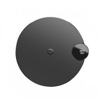 Bezdrátová nabíječka Baseus (WXSX-01) s LED displejem černá