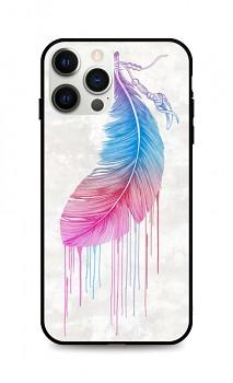 Zadní pevný kryt LUXURY na iPhone 12 Pro Max Feather