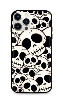 Zadní pevný kryt LUXURY na iPhone 12 Pro Max Skulls
