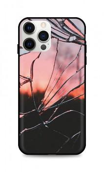 Zadní pevný kryt LUXURY na iPhone 12 Pro Max Pink Broken