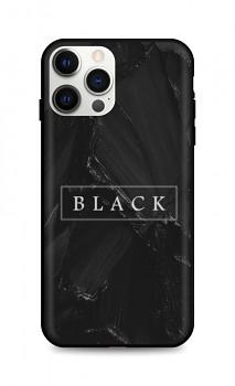 Zadní pevný kryt LUXURY na iPhone 12 Pro Max Black