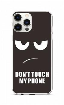 Zadní silikonový kryt na iPhone 12 Pro Max Don't Touch