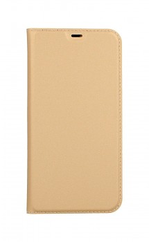 Knížkové pouzdro Dux Ducis na iPhone 12 zlaté
