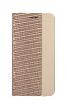 Knížkové pouzdro Sensitive Book na iPhone 12 Pro zlaté