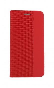 Knížkové pouzdro Sensitive Book na iPhone 12 Pro červené