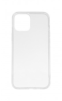 Zadní kryt Swissten Clear Jelly na iPhone 12 Pro Max průhledný
