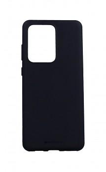 Zadní pevný kryt Swissten Liquid na Samsung S20 Ultra 5G černý