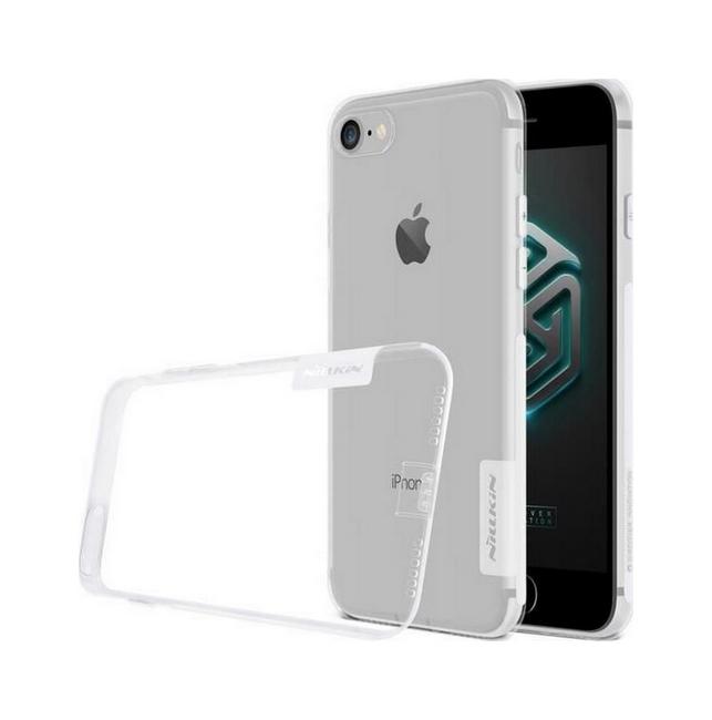 Ultratenký zadní kryt Nillkin na iPhone SE 2020 průhledný