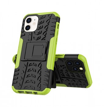 Ultra odolný zadní kryt na iPhone 12 mini zelený