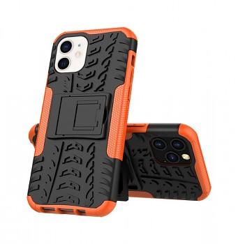 Ultra odolný zadní kryt na iPhone 12 mini oranžový