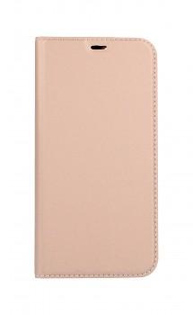 Knížkové pouzdro Dux Ducis na iPhone 12 Pro růžové