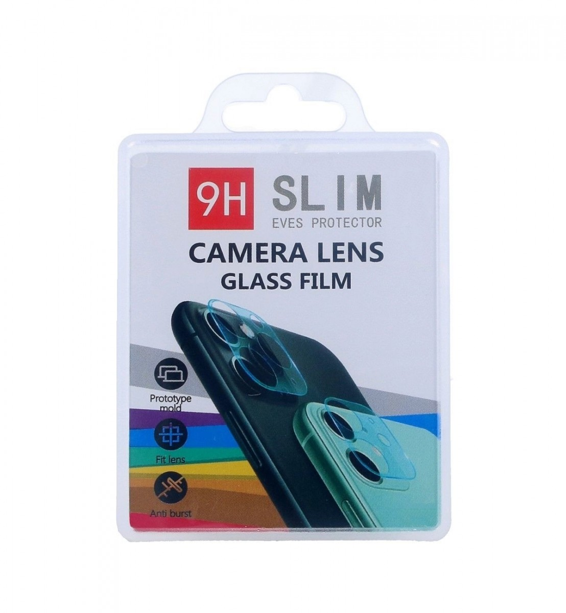 Tvrzené sklo TopQ na zadní fotoaparát Xiaomi Redmi 9 53743 (ochranné sklo na zadní čočku fotoaparátu Xiaomi Redmi 9)