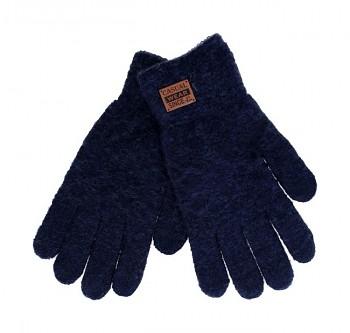 Dotykové rukavice pro mobilní telefon modré vel. M / L