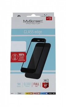 Tvrzené sklo MyScreen na iPhone 12 mini FullGlue LITE černé
