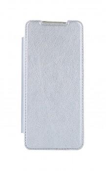 Knížkové pouzdro Forcell Electro Book na Samsung S20 stříbrné