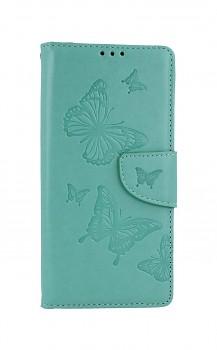 Knížkové pouzdro na Xiaomi Redmi 9 Butterfly zelené