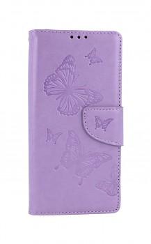Knížkové pouzdro na Xiaomi Redmi 9 Butterfly fialové