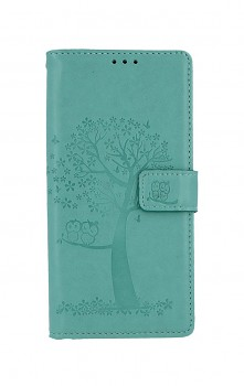 Knížkové pouzdro na Xiaomi Redmi 9 Zelený strom sovičky