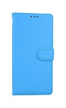 Knížkové pouzdro na Xiaomi Redmi Note 9 modré s přezkou