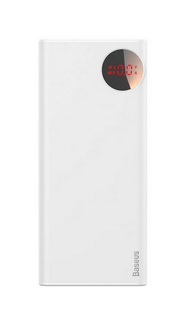 Powerbank Baseus BS-20KP202 20000mAh bílá 53949