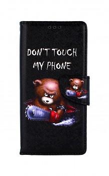 Knížkové pouzdro na Xiaomi Redmi 9 Don´t Touch méďa