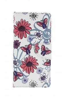 Knížkové pouzdro na Xiaomi Redmi 9 Flowers