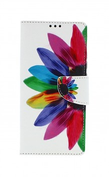 Knížkové pouzdro na Xiaomi Redmi 9A Barevná květina