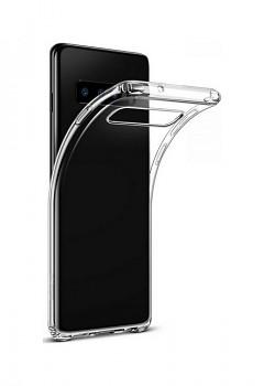 Zadní kryt Swissten Clear Jelly na Samsung S10+ průhledný