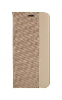 Knížkové pouzdro Sensitive Book na Xiaomi Redmi 9C zlaté