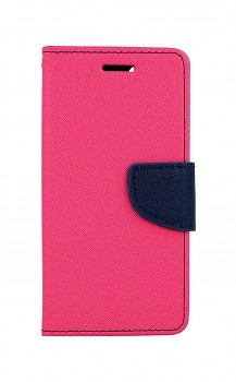 Knížkové pouzdro na iPhone SE 2020 růžové