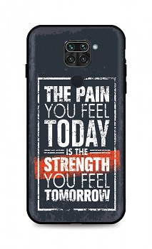 Zadní silikonový kryt DARK na Xiaomi Redmi Note 9 Strength