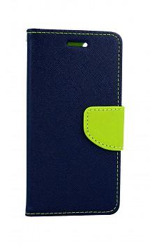 Knížkové pouzdro na iPhone SE 2020 modré