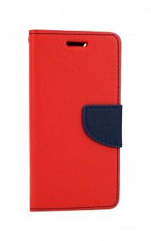 Knížkové pouzdro na iPhone SE 2020 červené